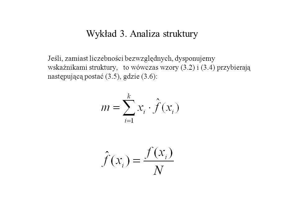Wykład 3. Analiza struktury