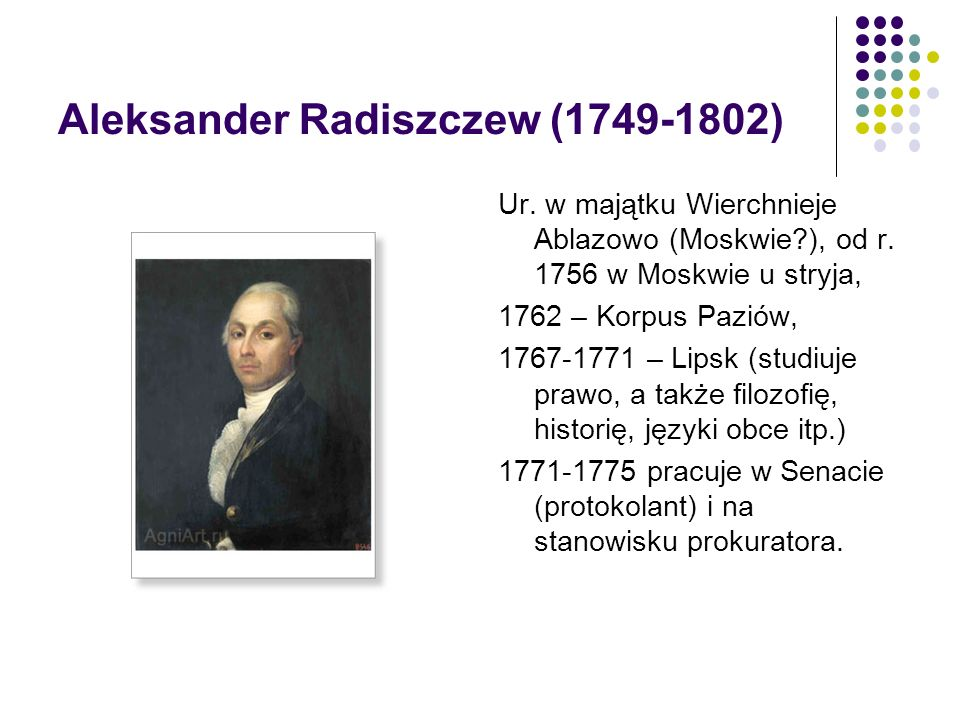 Aleksander Radiszczew (1749-1802)