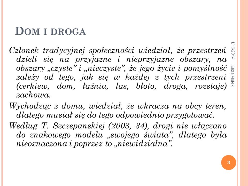 Dom i droga 3/26/2017.