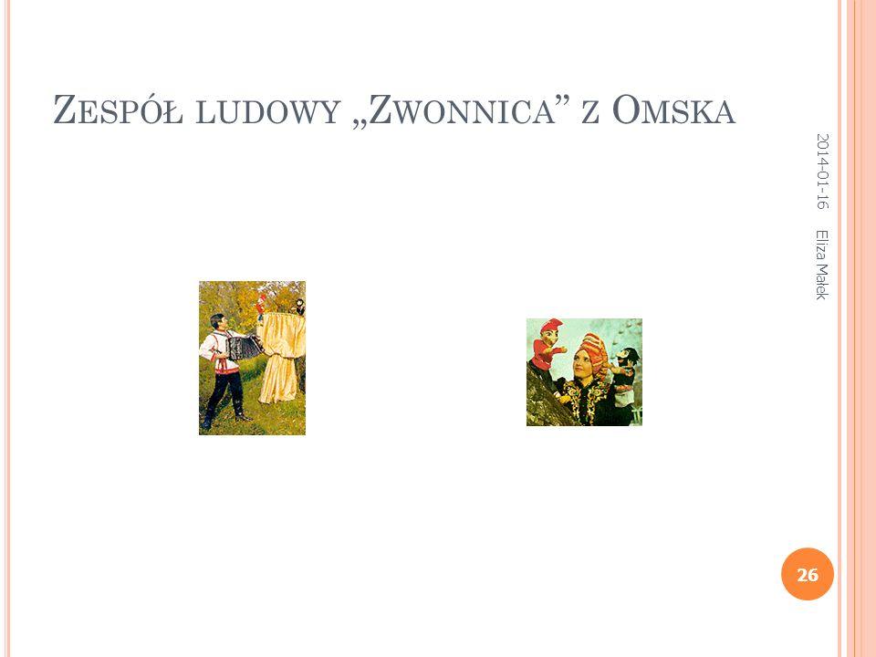 """Zespół ludowy """"Zwonnica z Omska"""