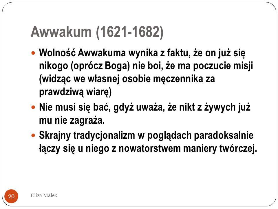 Awwakum (1621-1682)