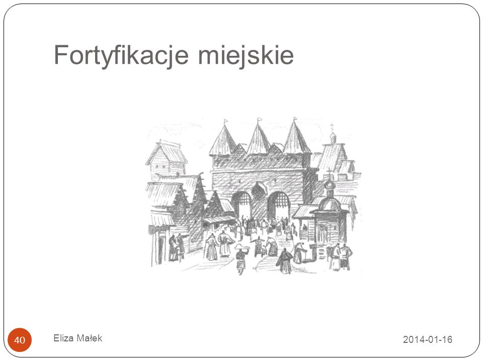 Fortyfikacje miejskie