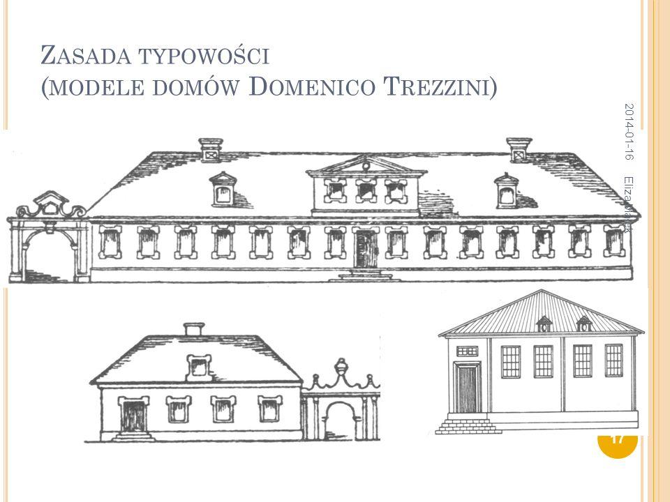 Zasada typowości (modele domów Domenico Trezzini)
