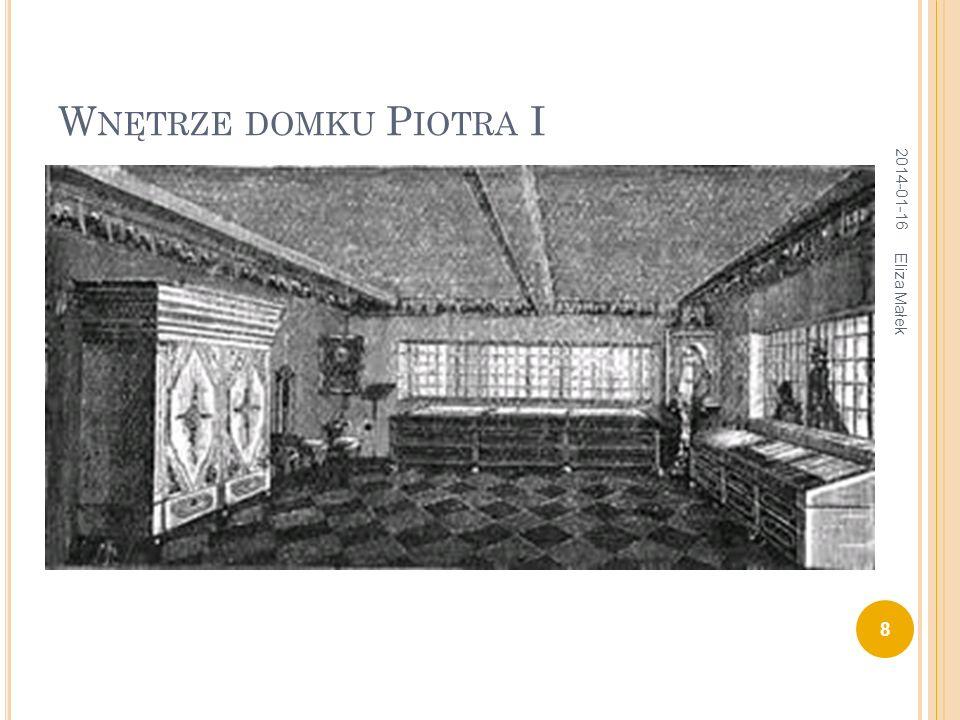 Wnętrze domku Piotra I 2017-03-26 Eliza Małek