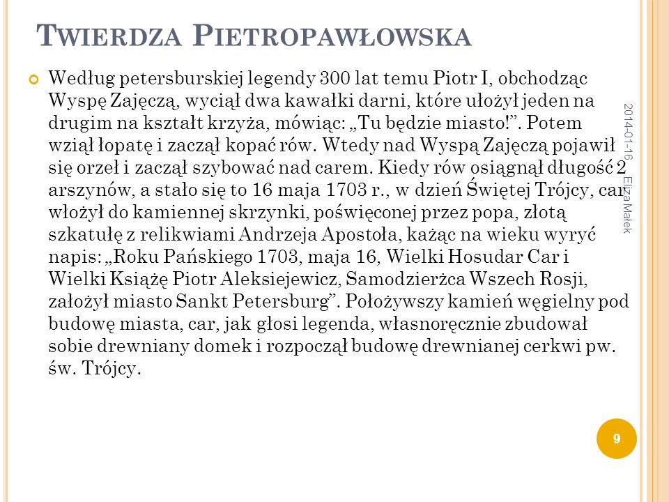 Twierdza Pietropawłowska