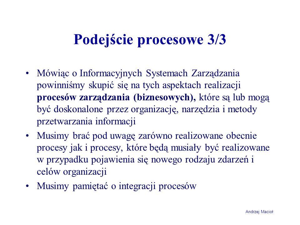 Podejście procesowe 3/3
