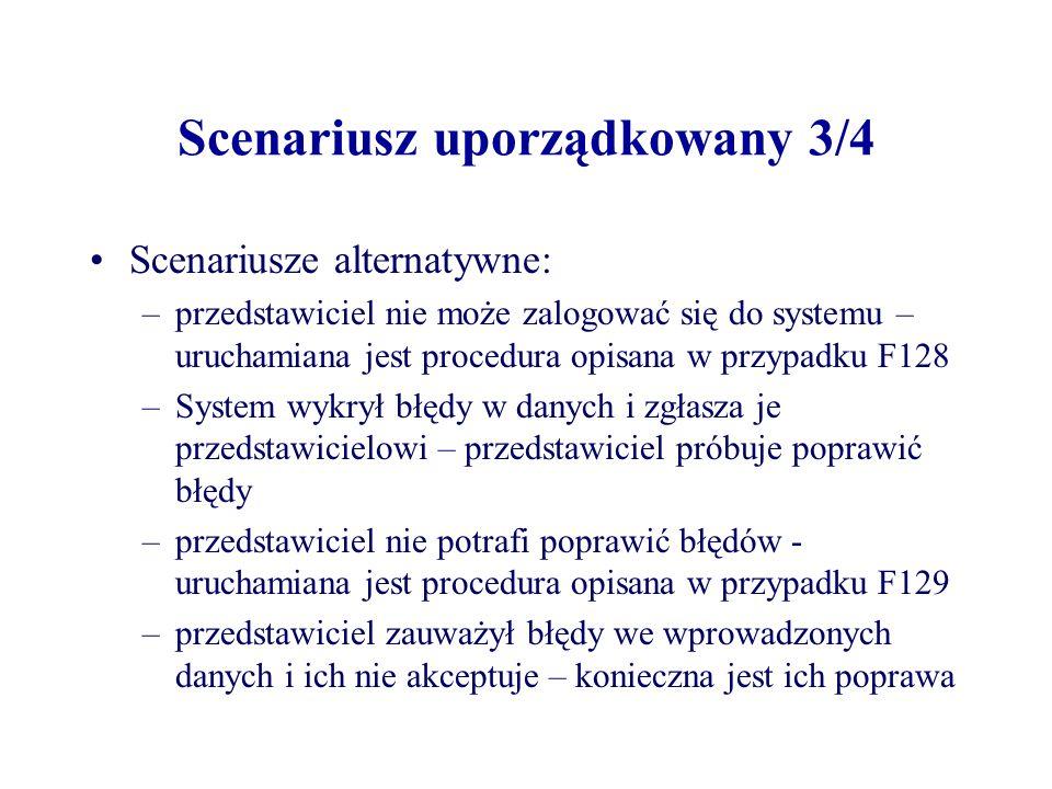 Scenariusz uporządkowany 3/4