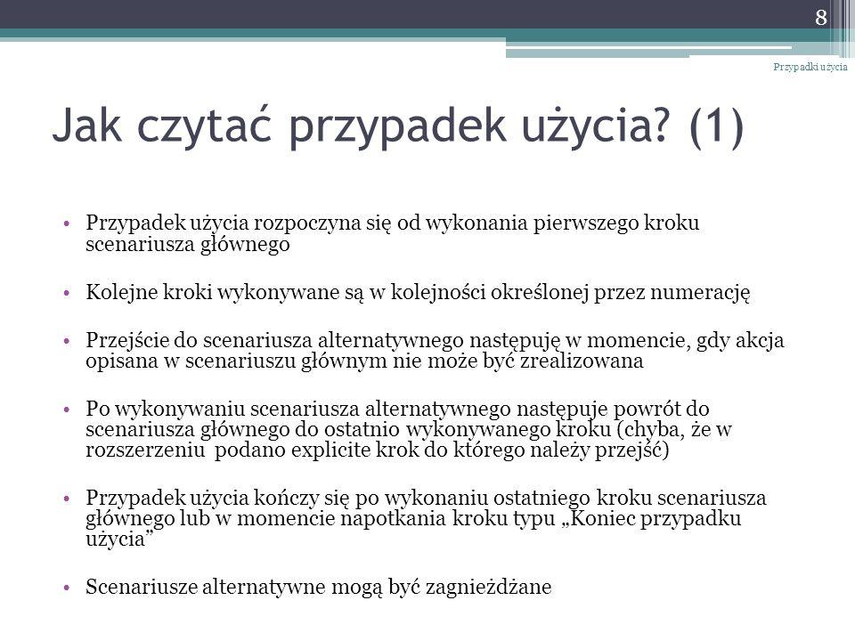 Jak czytać przypadek użycia (1)