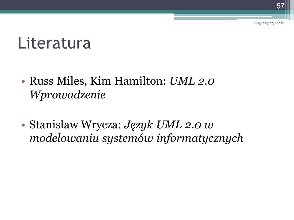 Literatura Russ Miles, Kim Hamilton: UML 2.0 Wprowadzenie