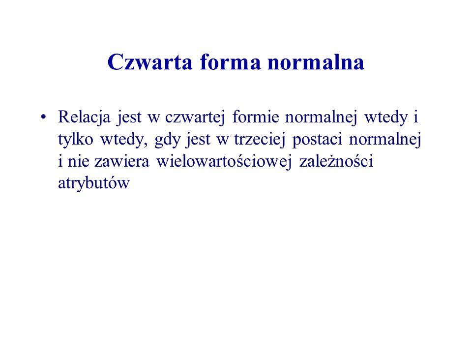 Czwarta forma normalna