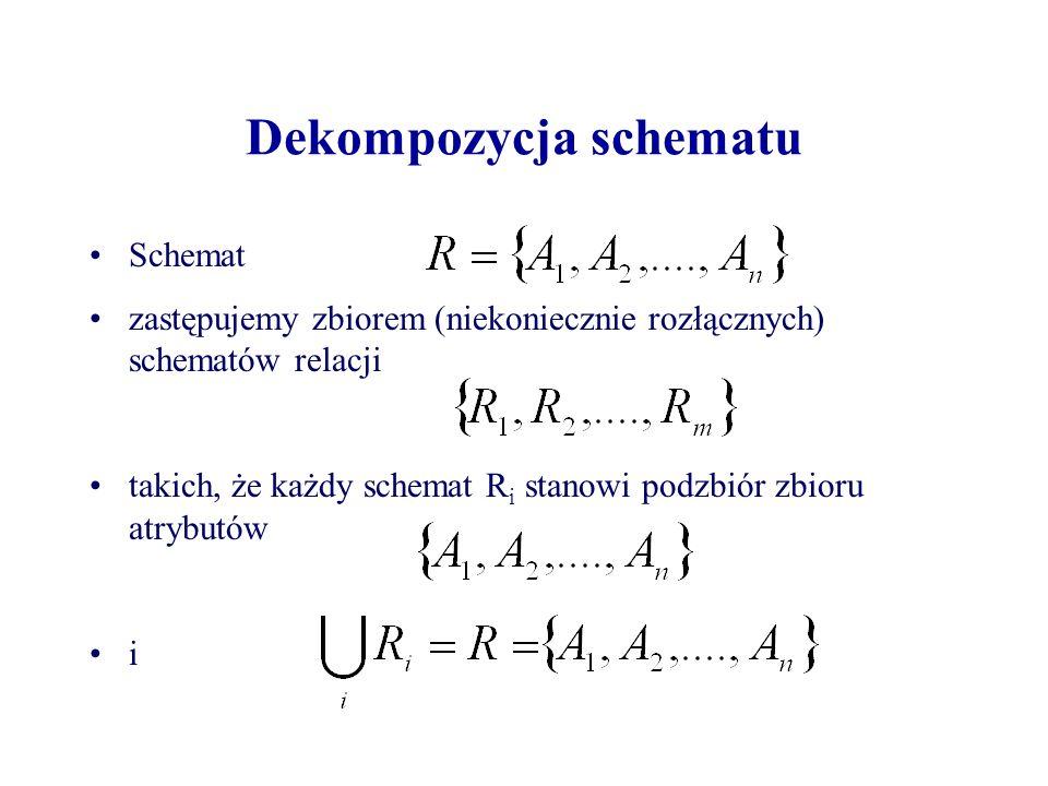 Dekompozycja schematu