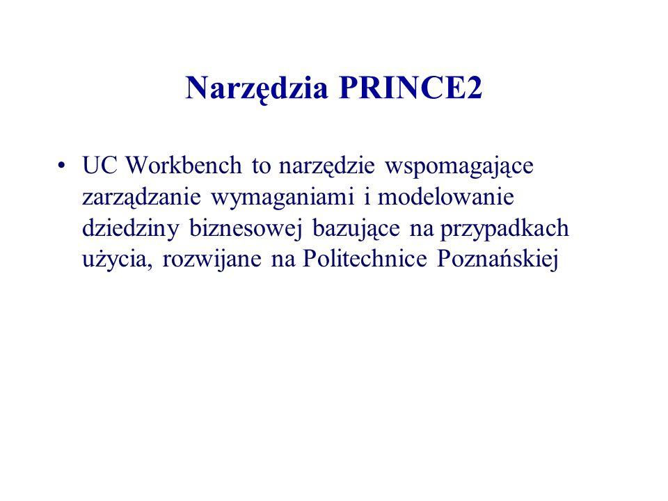 Narzędzia PRINCE2