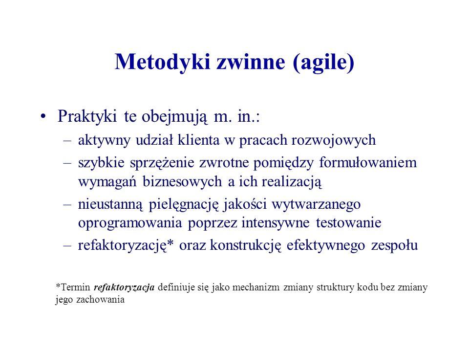 Metodyki zwinne (agile)