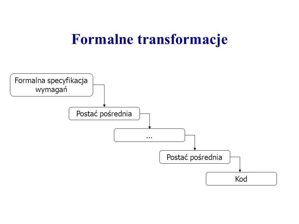 Formalne transformacje