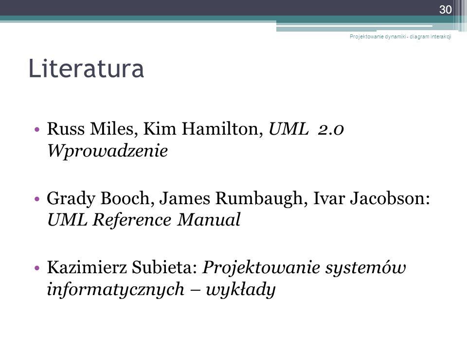 Literatura Russ Miles, Kim Hamilton, UML 2.0 Wprowadzenie