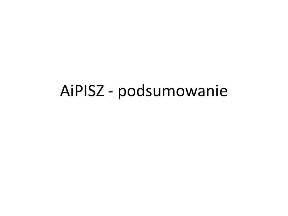 AiPISZ - podsumowanie