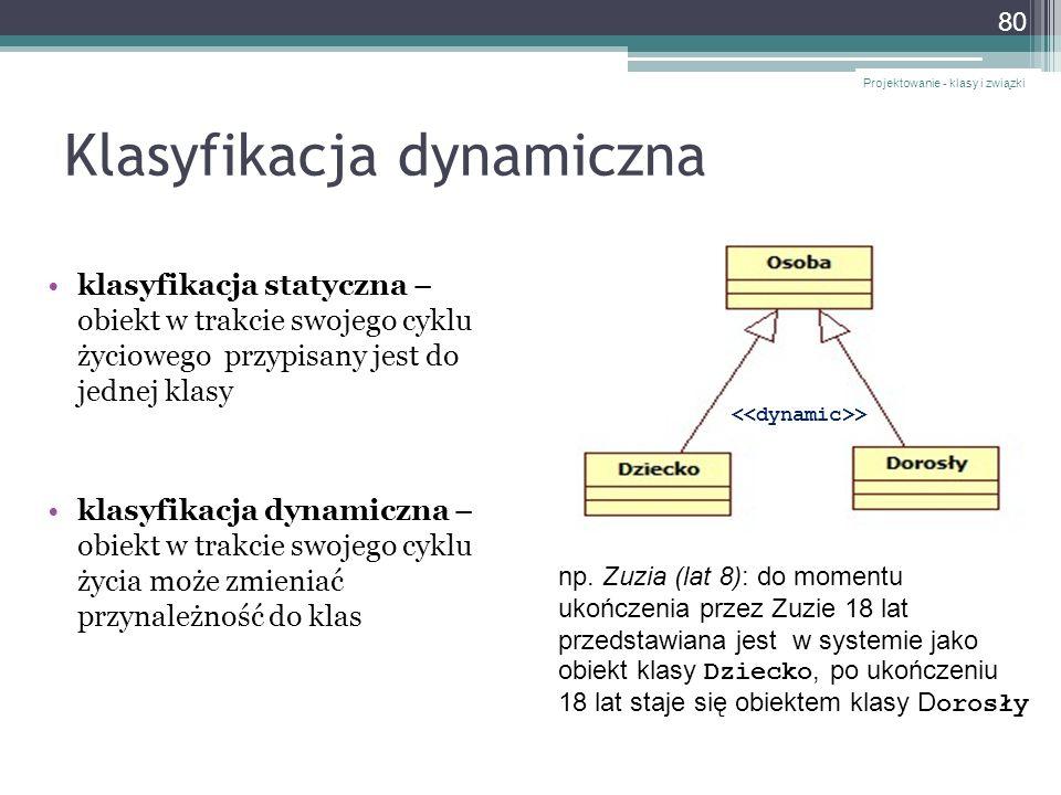 Klasyfikacja dynamiczna