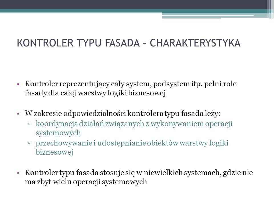KONTROLER TYPU FASADA – CHARAKTERYSTYKA