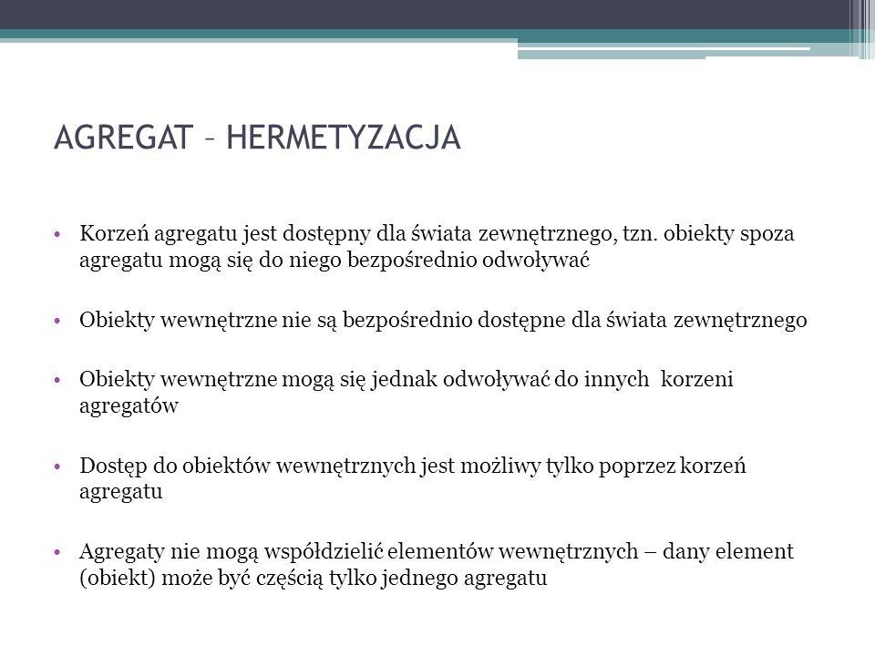 AGREGAT – HERMETYZACJA