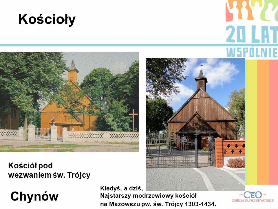 Kościoły Kościół pod wezwaniem św. Trójcy Chynów Kiedyś, a dziś,