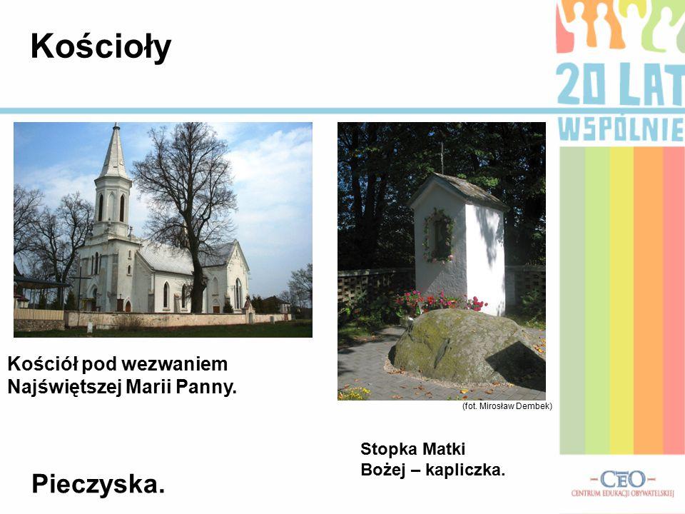 Kościoły Pieczyska. Kościół pod wezwaniem Najświętszej Marii Panny.