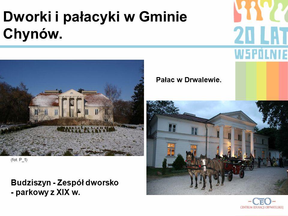 Dworki i pałacyki w Gminie Chynów.