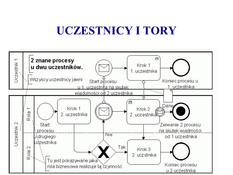 UCZESTNICY I TORY