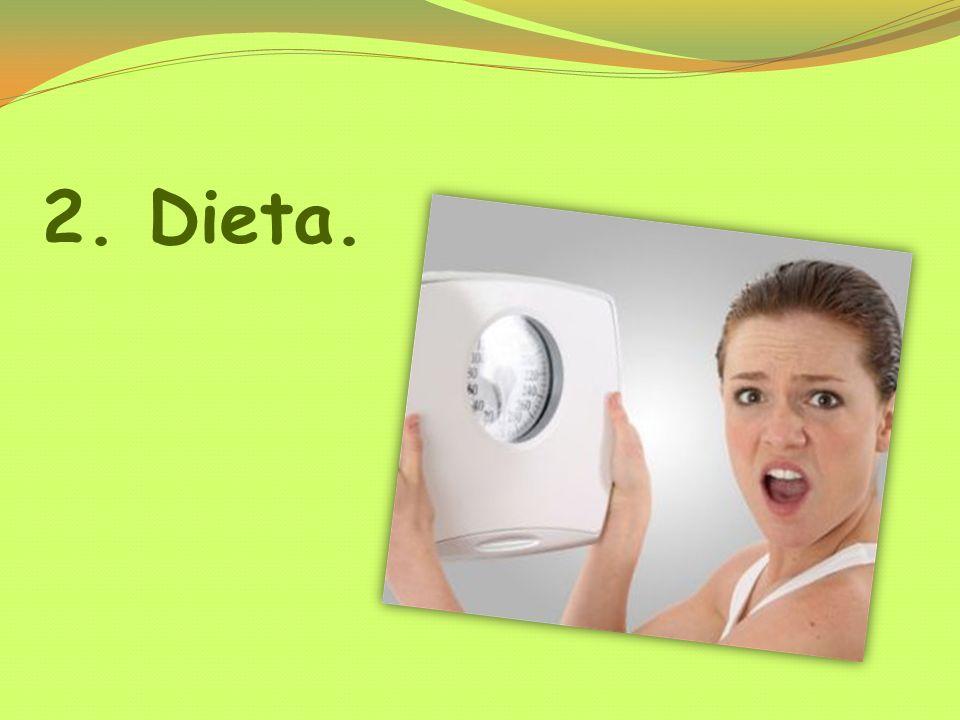2. Dieta.