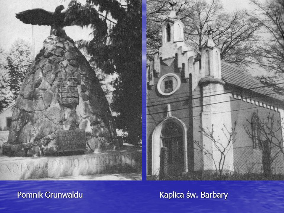 Pomnik Grunwaldu Kaplica św. Barbary