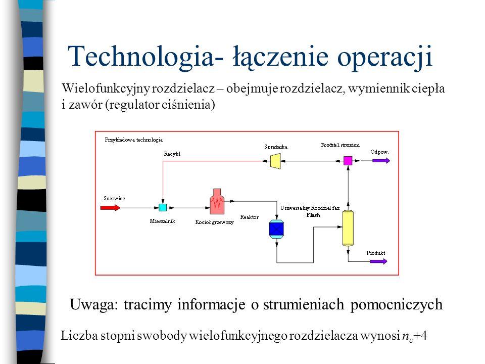 Technologia- łączenie operacji