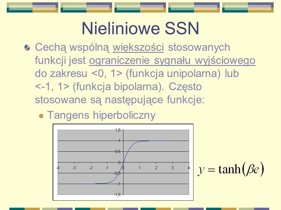 Nieliniowe SSN