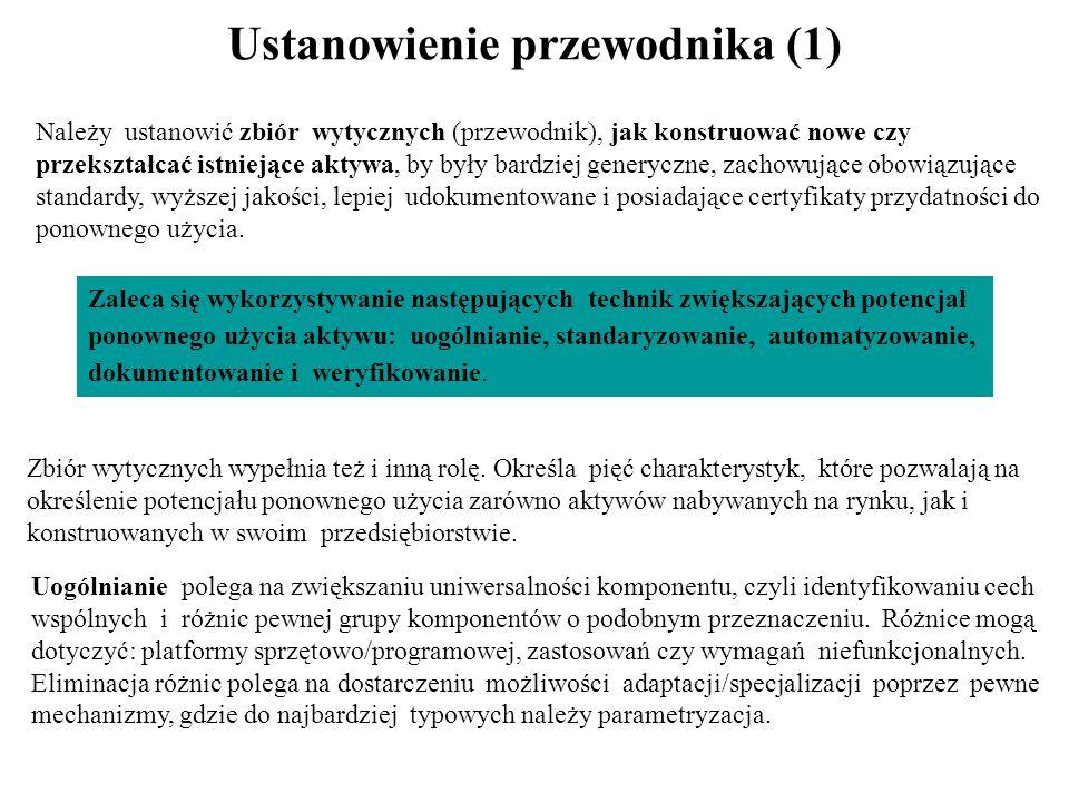 Ustanowienie przewodnika (1)
