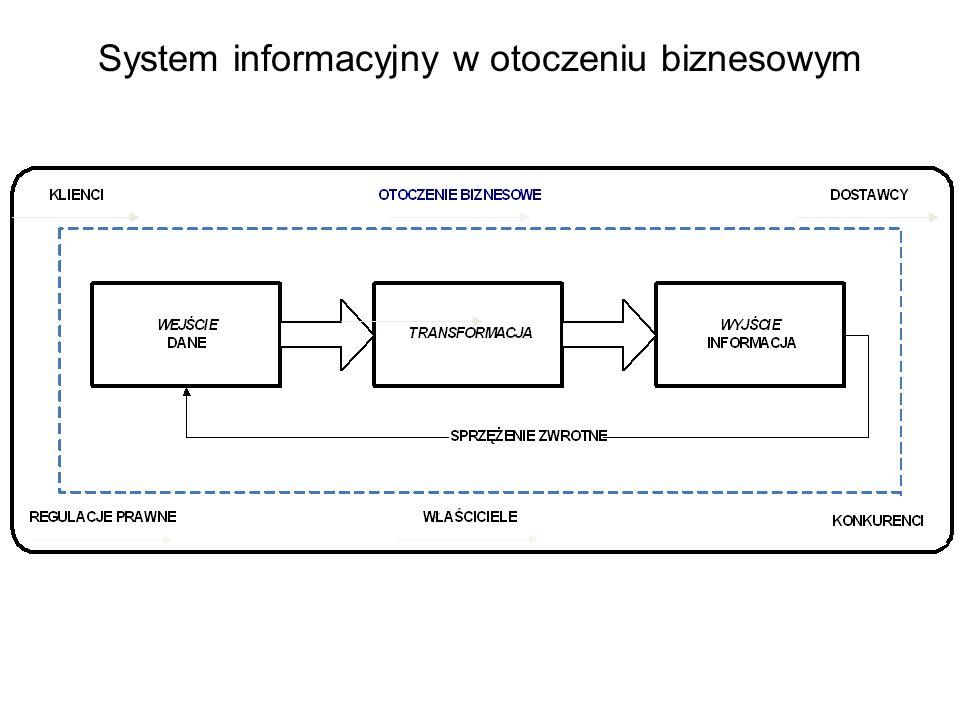 System informacyjny w otoczeniu biznesowym