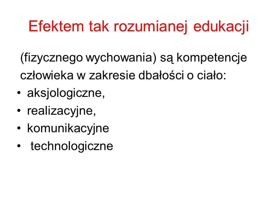 Efektem tak rozumianej edukacji