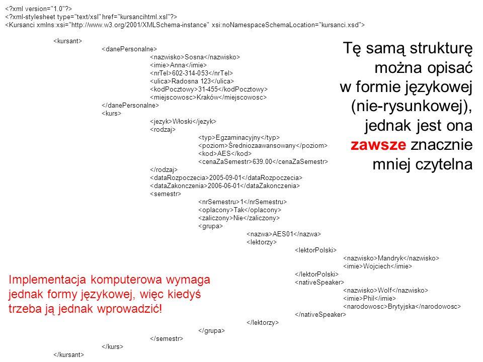 < xml version= 1.0 > < xml-stylesheet type= text/xsl href= kursancihtml.xsl >