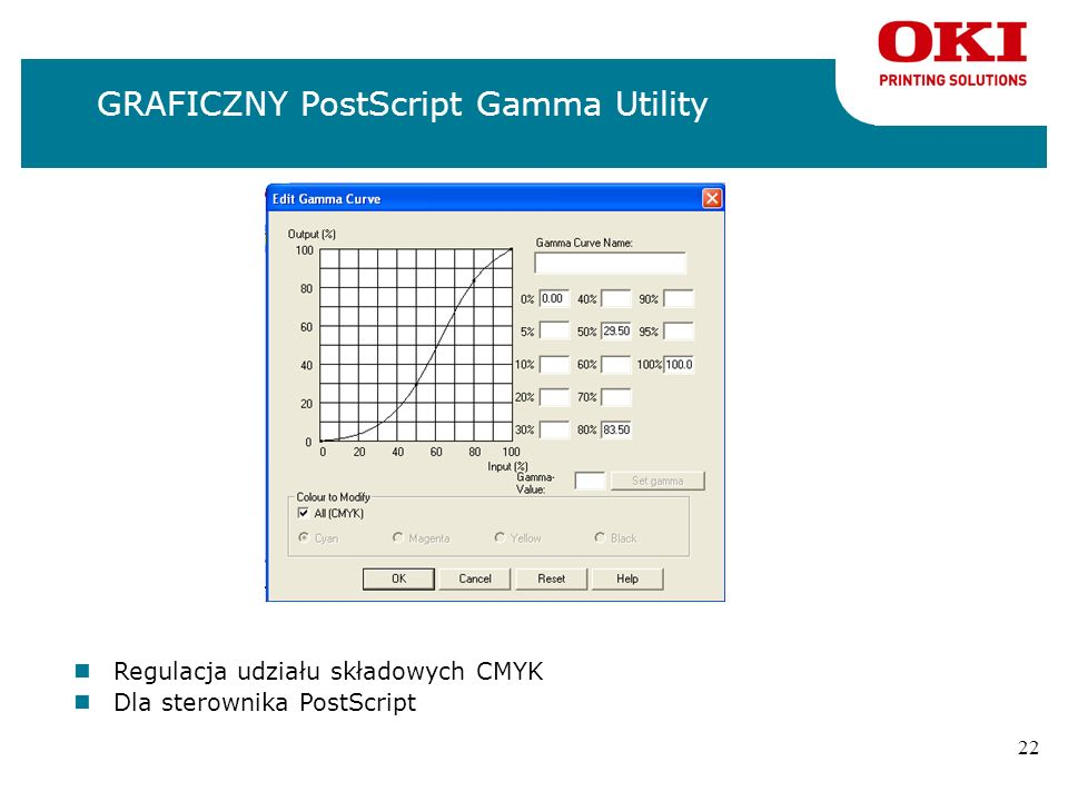 GRAFICZNY PostScript Gamma Utility
