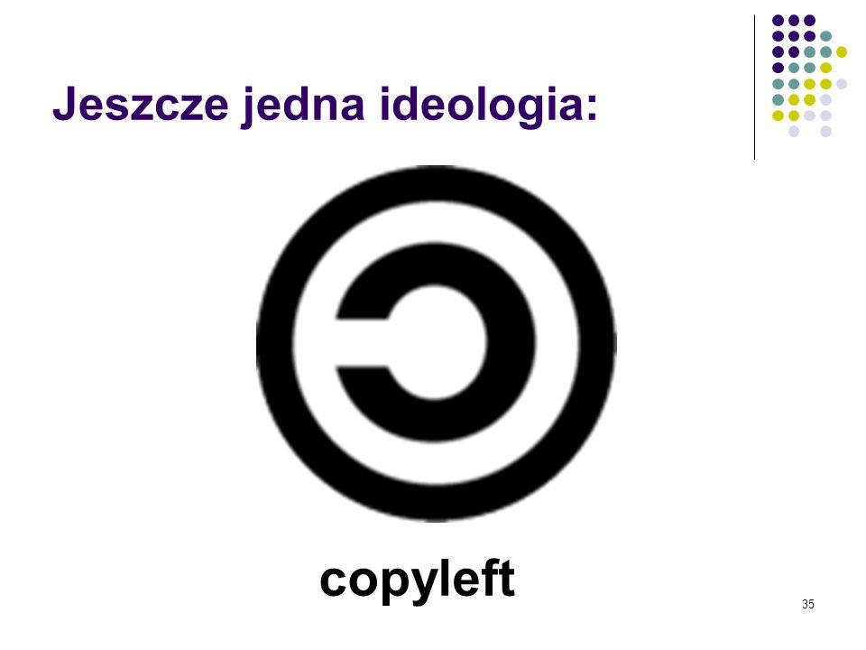 Jeszcze jedna ideologia: