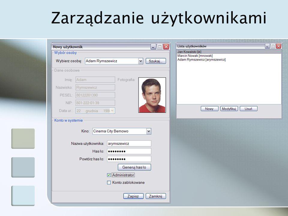 Zarządzanie użytkownikami