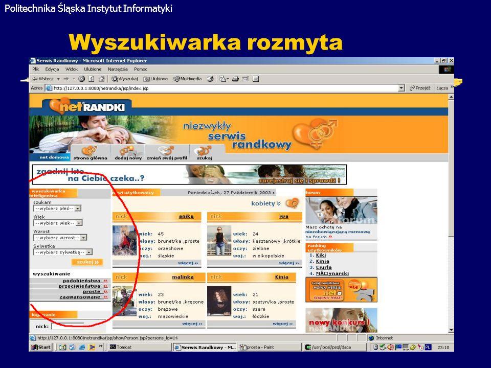 Wyszukiwarka rozmyta Gliwice 2005