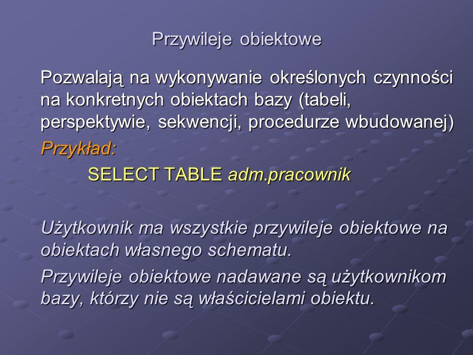 SELECT TABLE adm.pracownik