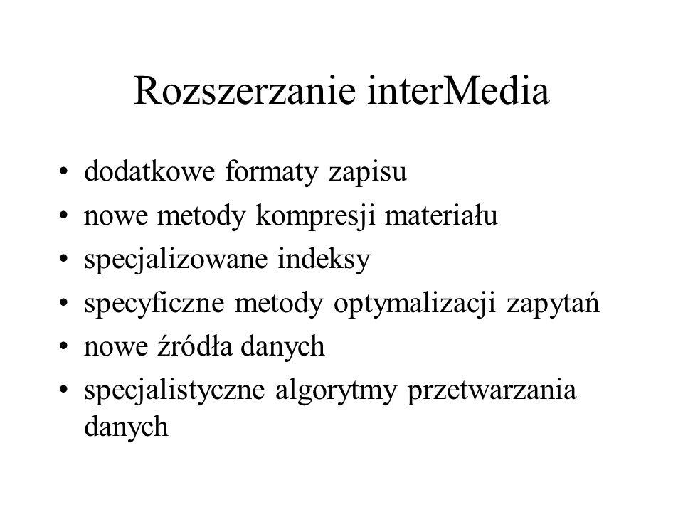 Rozszerzanie interMedia