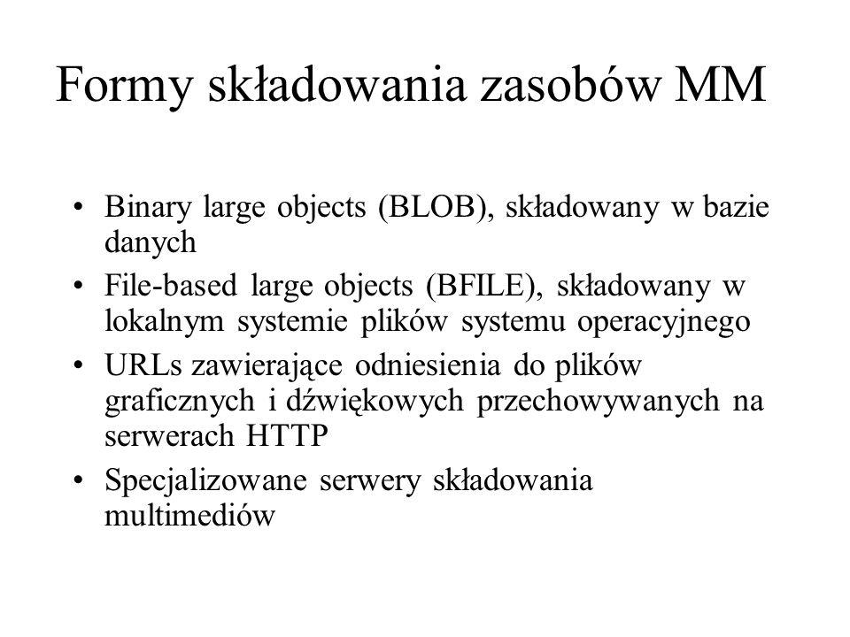 Formy składowania zasobów MM