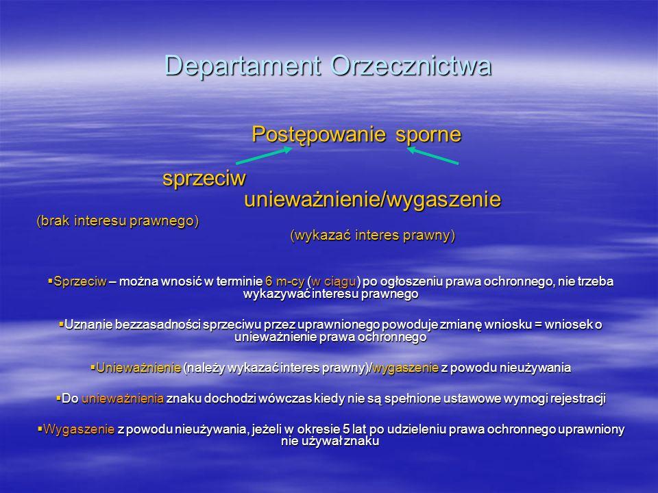 Departament Orzecznictwa