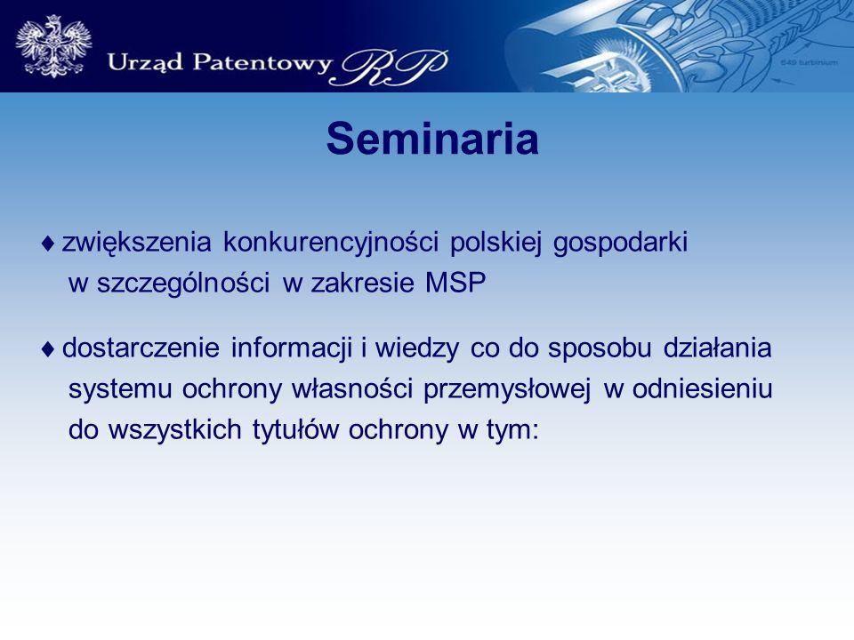 Seminaria zwiększenia konkurencyjności polskiej gospodarki
