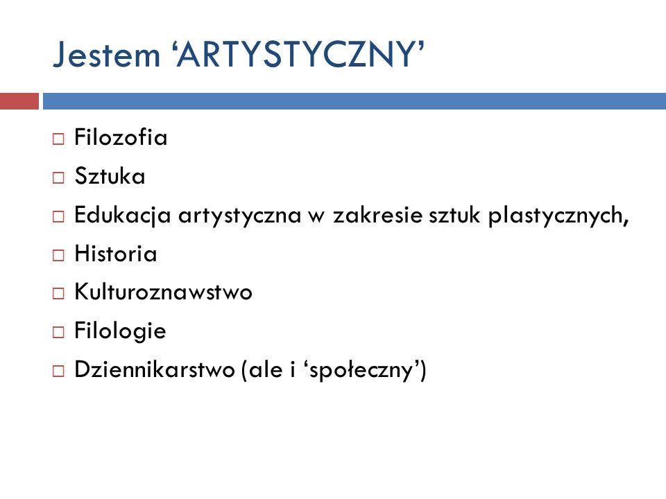Jestem 'ARTYSTYCZNY' Filozofia Sztuka