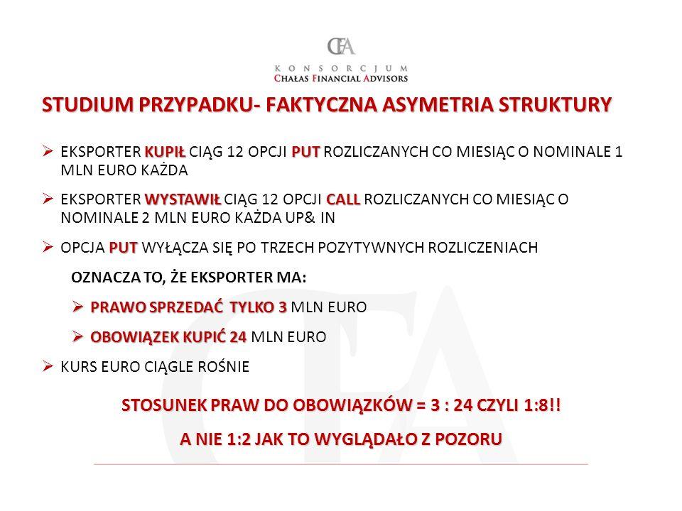STUDIUM PRZYPADKU- FAKTYCZNA ASYMETRIA STRUKTURY