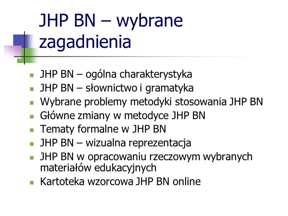 JHP BN – wybrane zagadnienia