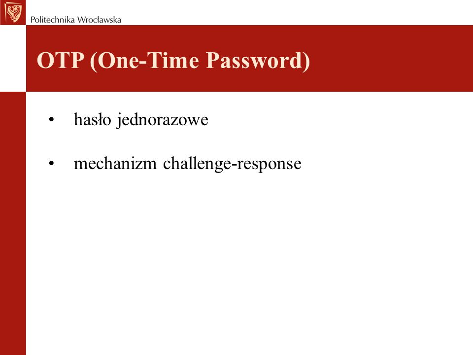 OTP (One-Time Password)