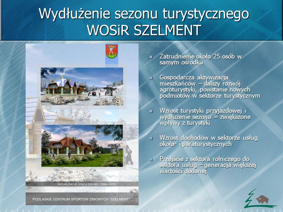 Wydłużenie sezonu turystycznego WOSiR SZELMENT
