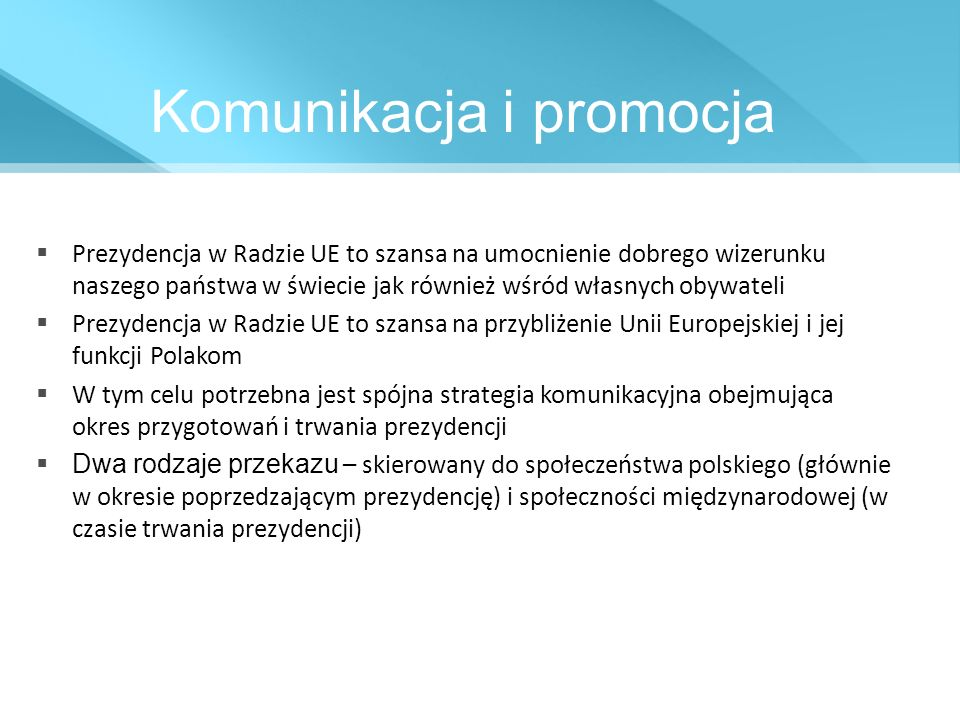Komunikacja i promocja